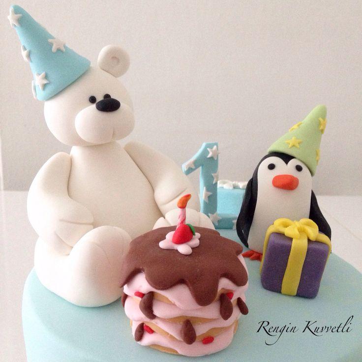 Kutup ayısı ve penguen / Polar bear and Penguin