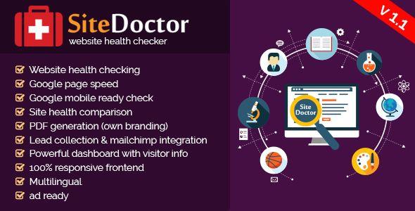 SiteDoctor v1.1 - Website Health Checker Script
