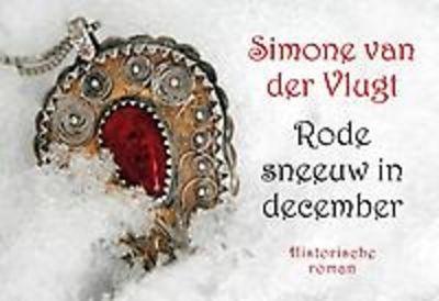 // Simone van der Vlugt - Rode sneeuw in december // Als in Leiden anno 1552 een katholiek meisje verliefd wordt op een jonge lutherse arts, kan haar vader dit niet accepteren en onterft haar. Na hun huwelijk verhuist het stel, trouwe aanhangers van Willem van Oranje, naar Breda.