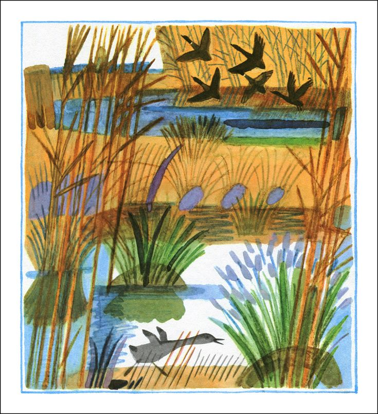 Hans Christian Andersen. The Ugly Duckling. Illustrator Galina Makaveeva, 1987.
