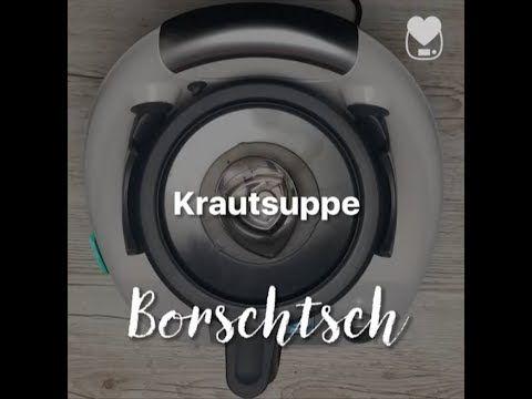 Thermomix - Krautsuppe / Borschtsch / Schnelle russische Rezepte - YouTube