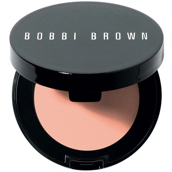 Bobbi Brown Corrector - Extra Light Peach Bisque (£18) ❤ liked on Polyvore featuring beauty products, makeup, face makeup, concealer, beauty, colorless, creamy concealer, dark circle concealer and bobbi brown cosmetics