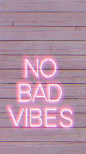 "Wallpaper ""No Bad Vibes"" #Wallpaper #Tumblr – #Bad #planodefundo #Tumblr"