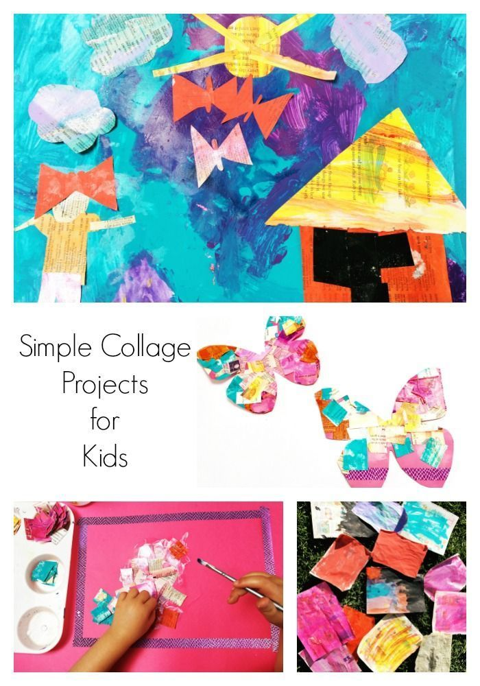 A Simple Collage Project that Toddlers Will Love