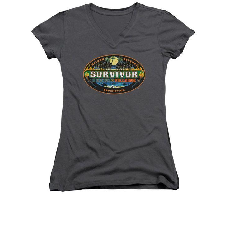 Survivor - Heroes Vs Villains Junior V-Neck T-Shirt