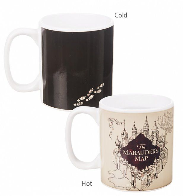 Watch as the magic happens when you pour your favourite hot beverage into this fantastic harry potter mug! Featuring the classic quote, I Solemnly Swear I Am Up To No Good and Marauders Map imagery, this a great find for Harry Potter fans!