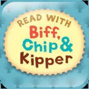 Read with Biff, Chip & Kipper: Library. Books are available to purchase through in-app purchase.