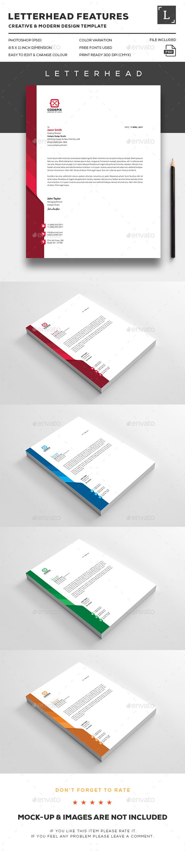 Letterheads Templates Free Download New 116 Best Letterhead Images On Pinterest  Letterhead Design .