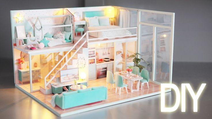 Diy miniature dollhouse kit poetic life miniature