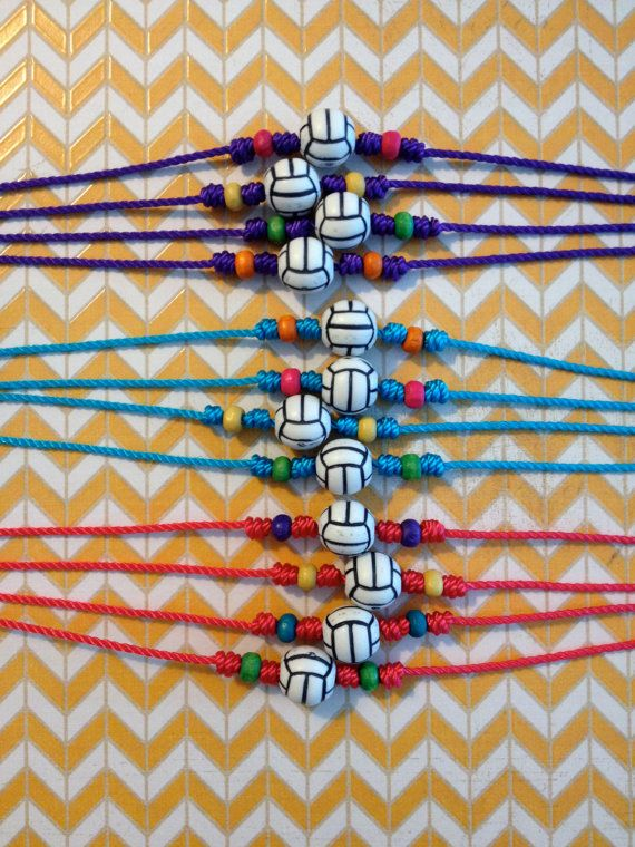 12 Volleyball Necklaces  Volleyball Team  Sports  Team by PauPari, $60.00