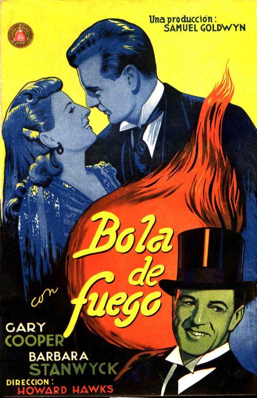 Bola de fuego (1941) EEUU. Dir: Howard Haws. Comedia. Romance. Ensino. Feminismo - DVD CINE 770