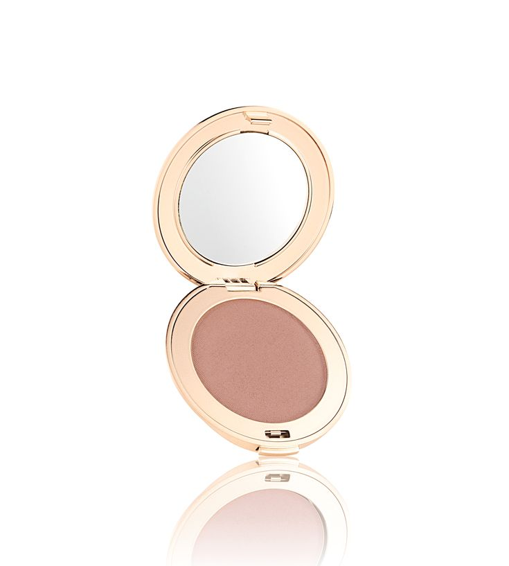 A new Jane Iredale PurePressed Blush recruit: Flawless, a refreshing wash of peachy, pink-brown to define and highlight cheekbones
