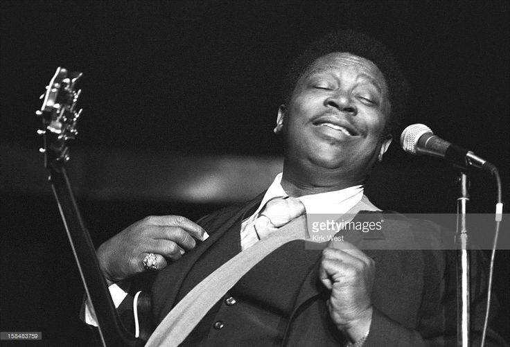 B.B. King performs at Park West, Chicago, Illinois, February 10, 1979. (Photo by Kirk West/Getty Images)