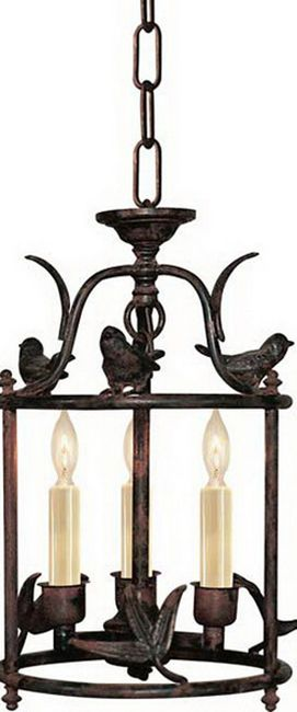 PETITE DIEGO CLASSICAL PERCHING BIRD LANTERN