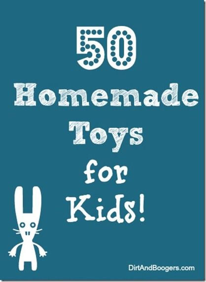50 Handmade Toys for Kids: Homemade Toys For Kids Ideas, Kids Activities, 50 Handmade, Baby Toys, Cool Ideas, 50 Homemade, Handmade Toys, Kids Toys, Cool Diy Ideas For Kids