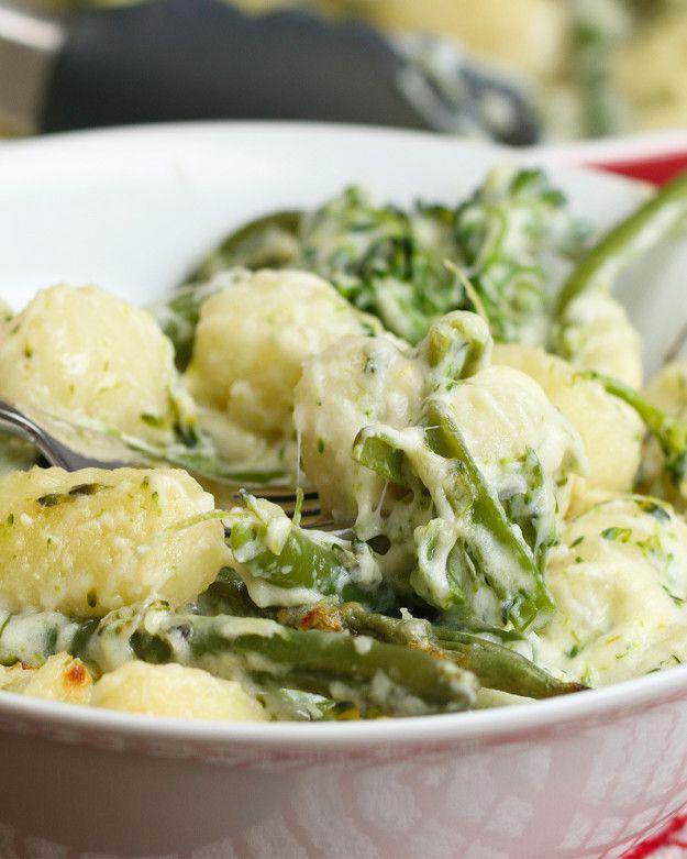 Deliciosamente leve! | O nhoque de brócolis com queijo é perfeito