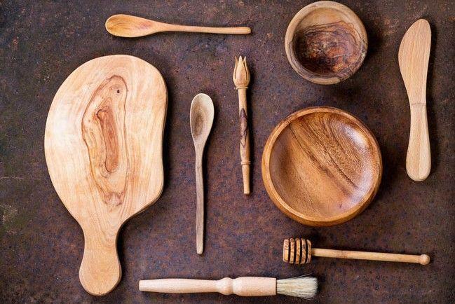 5 tipů, jak se starat o dřevěné nádobí