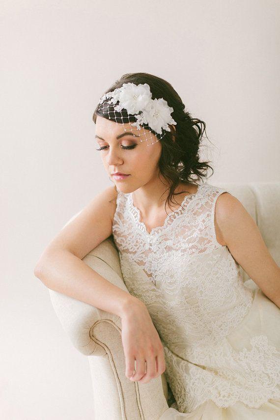 17 Best Ideas About Headband Veil On Pinterest | Bachelorette Veil Bridal Hair With Veils And ...