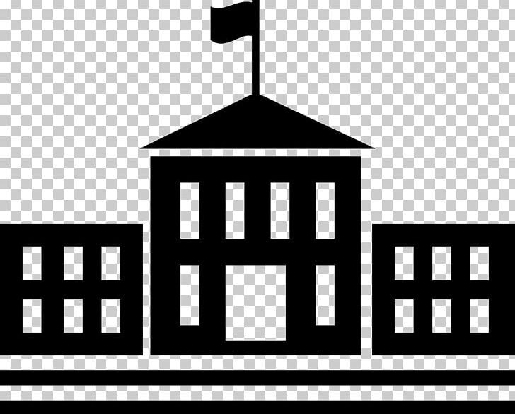 College School Building University Student Png Area Black And White Brand Computer Icons Diploma University Student School Building School Icon