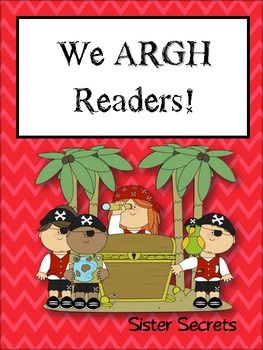 """Like the idea of a pirate theme later in the year with the phrase """"We ARRR readers."""""""