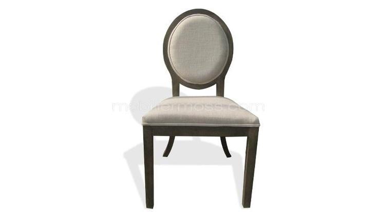 Les 25 meilleures id es de la cat gorie chaise en peau de vache sur pinterest - Chaise medaillon blanche ...