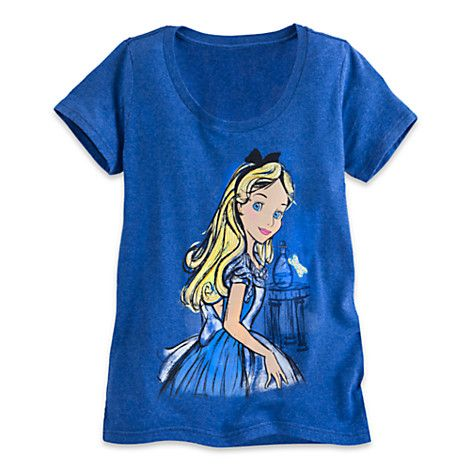 Image result for alice t-shirt disney store