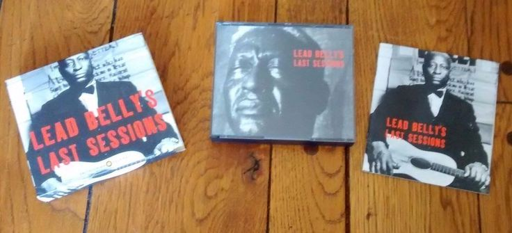 Lead Belly's Last Sessions by Lead Belly 4 CDs - Includes booklet #CountryBlues