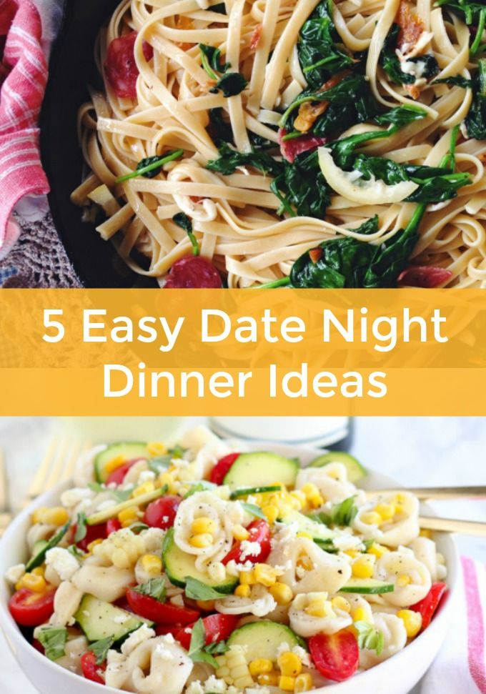 Date night dinner recipes in Australia