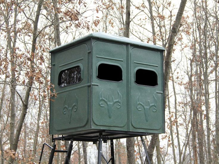 tower hunting stands w platinum stand blinds with box is palace blind shop buck red the redneck neck
