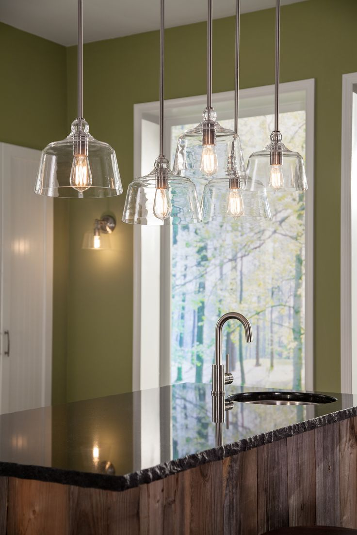 21 best park harbor lighting images on pinterest brushed nickel updating an industrial modern silhouette with a clear glass shade makes the eastland collection from park harbor lighting a versatile choice for any home arubaitofo Gallery