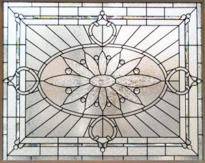 victorian glass windows examples | large sized windows of beveled glass, stained glass and leaded glass ...