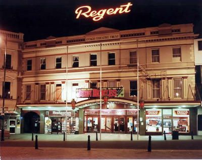The Regent Theatre - home to the famous 24 hour booksale