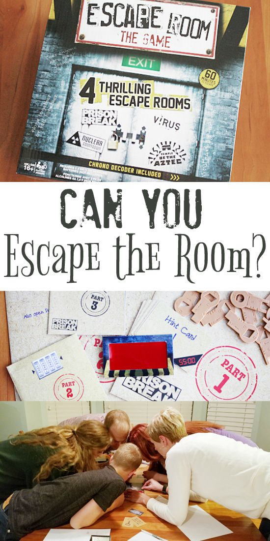 Escape Room The Game -- Bring adventure, excitement and a little mayhem to your grown-up game night with the new Escape Room: The Game from @spin_master. Nothing like a good prison break to bring people together! | isthisreallymylife.com #EscapeTheRoomGame #CG