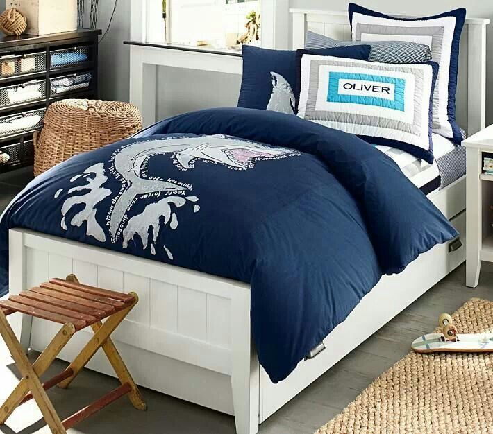 Shark Bedding Kids Pinterest