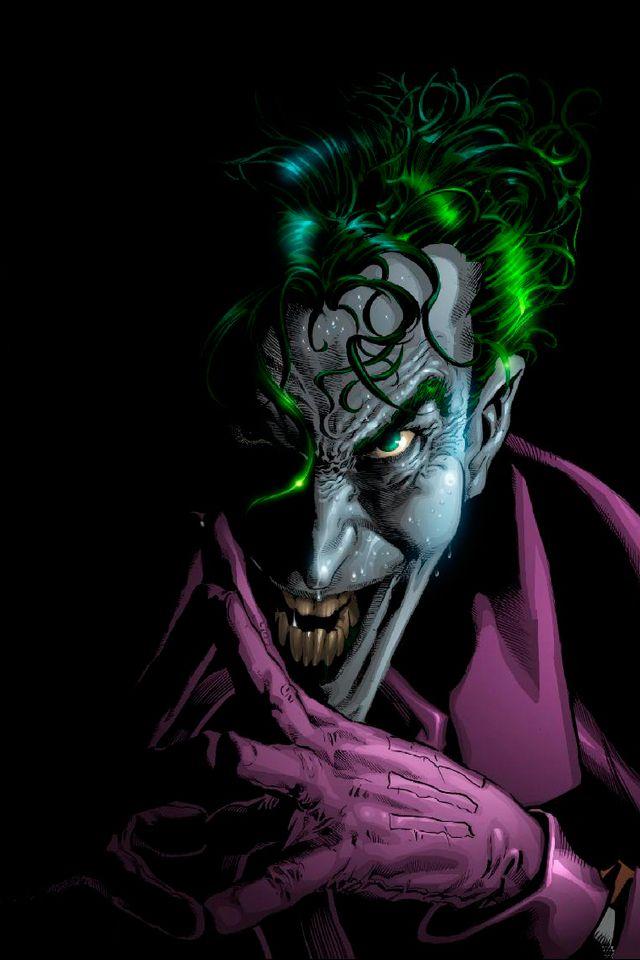 The Joker Cartoon | Joker Cartoon iPhone 4 Wallpaper ...