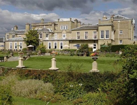 Chilworth Manor, where 'Wedding Date' was filmed
