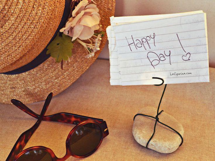 Oggi voglio essere felice anche per il solo fatto di poter godere di tutti i meravigliosi colori della vita! www.lafigurina.com