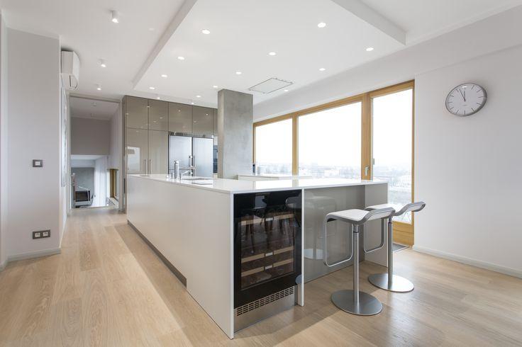 modern and minimalist kitchen
