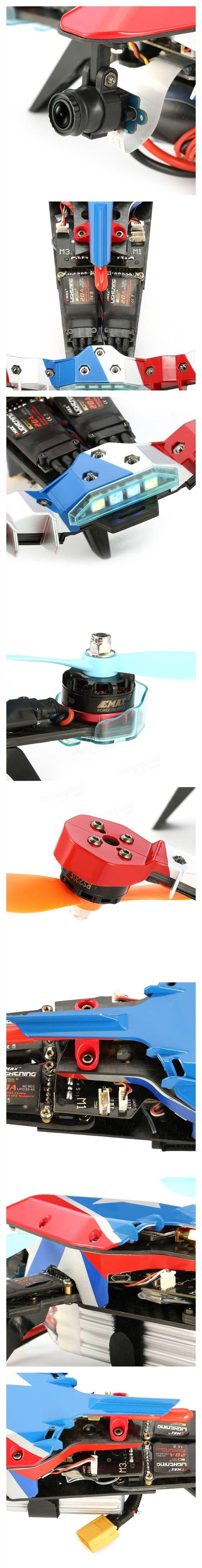 Eachine V-tail 210 FPV Drone 1080P DVR F3 EVO Flight Controller 5.8G 40CH 200mW OSD ARF(20% off coupon:VARF)