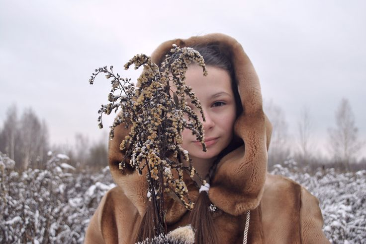 Зимняя принцесса / Princess in the Winter  Model: Anastasia Nenastina (* ^ ω ^)