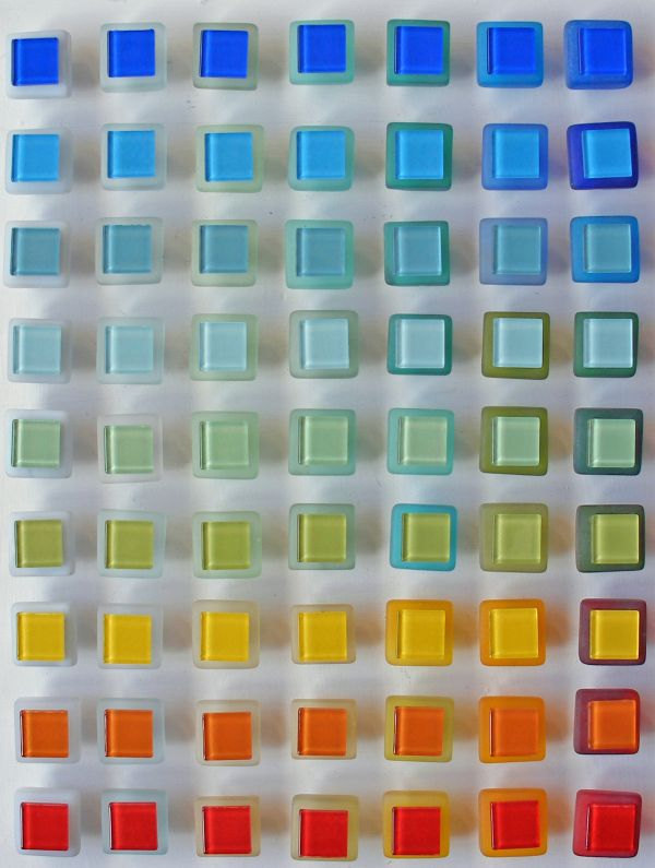 Beach Glass Drawer Pulls Part - 50: Oooh Beach Glass Drawer Pulls--and Look At All The Colors!