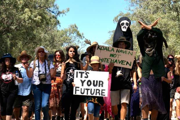 Miners get rewarded for destroying our environment, while protesters cop massive fines. And it's about to get worse. Welcome to Mike Baird's new New South Wales. At a mining industry dinner late la... https://winstonclose.wordpress.com/2015/04/12/backing-big-coal-mike-baird-promises-to-up-the-ante-for-acting-on-your-conscience-written-by-thom-mitchell/