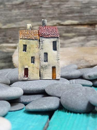 Miniature ceramic house | Flickr - Photo Sharing!