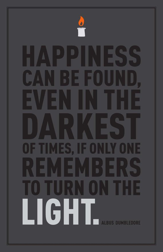 Harry Potter Dumbledore Quote 11x17