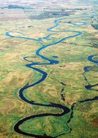 Biebrza River.