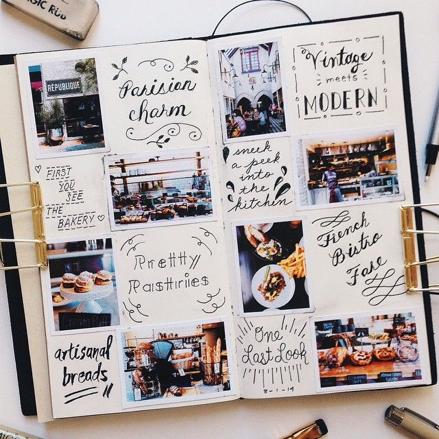 Cute way to journal.