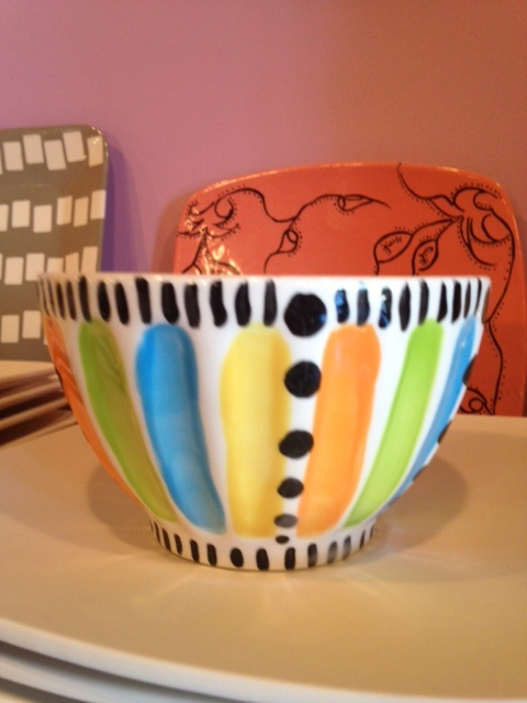 Painted pottery bowls images for Bowl painting ideas