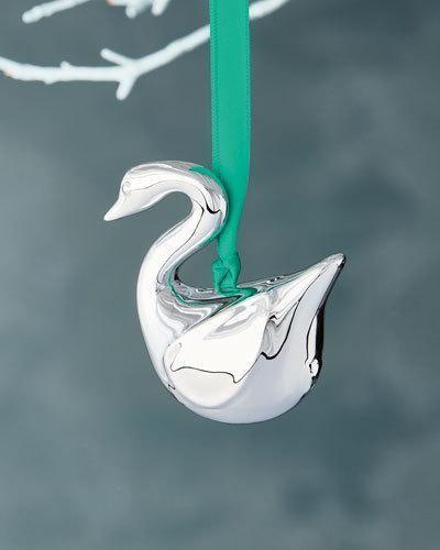 Jonathan Adler Metallic Swan Christmas Ornament - Jonathan Adler Metallic Swan Christmas Ornament Products
