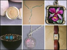 Peter Tobin Jewellery Released   Some of the jewellery recovered by police