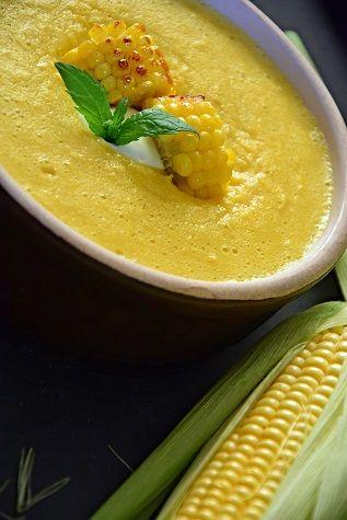 Zupa kukurydziana. Krem kukurydziany
